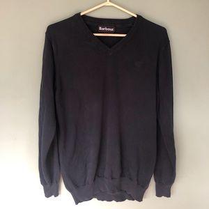Barbour Navy Sweater